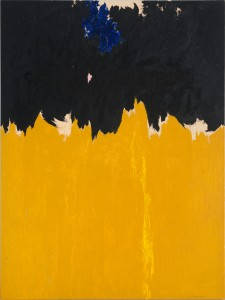 Clyfford Still. PH-950, 1950. Cortesía Clyfford Still Museum, Denver, Colorado © City and County of Denver, VEGAP, Bilbao, 2016