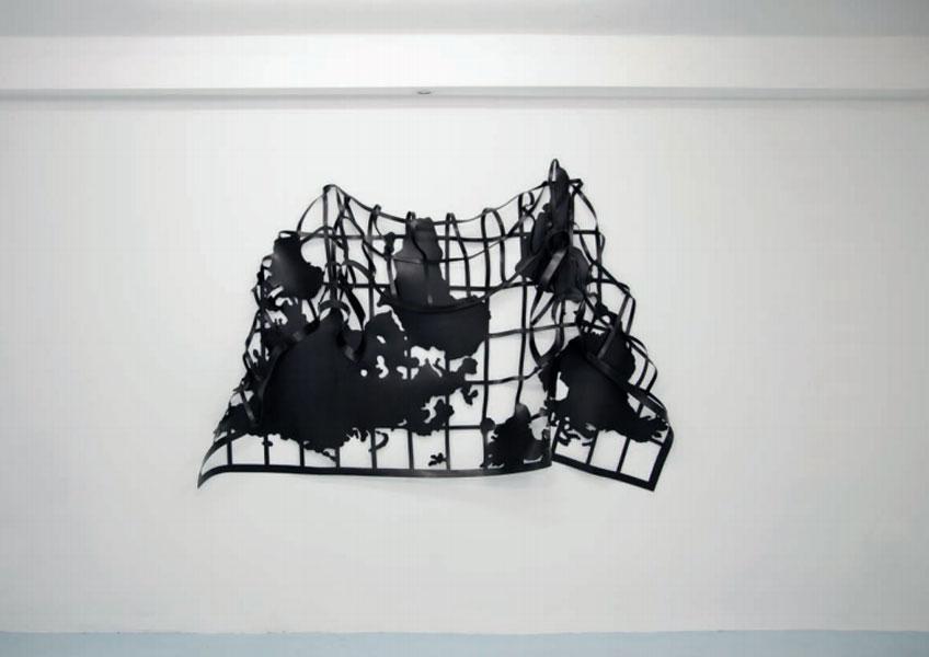 Marina Camargo. Mapa-mole I - Soft-map I, 2019