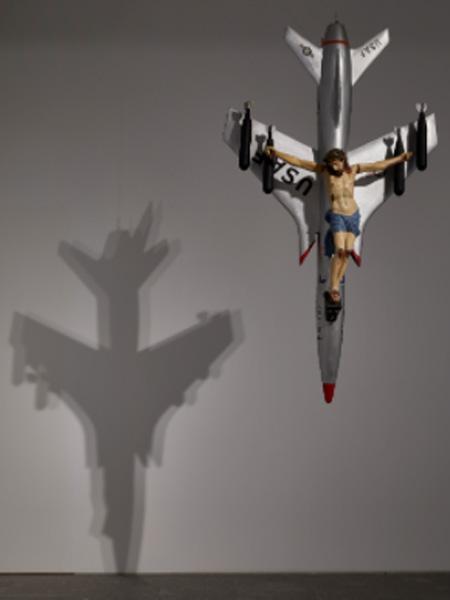 León Ferrari. La civilización occidental y cristiana, 1965. Fundación Augusto y León Ferrari Arte y Acervo