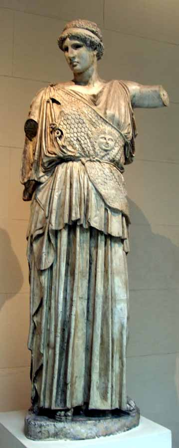 Fidias: obras fundamentales del enigmático escultor de la Acrópolis. Atenea Lemnia