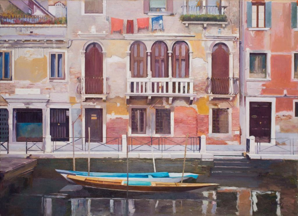 Francesc Sillué. Canal de Santa Fosca