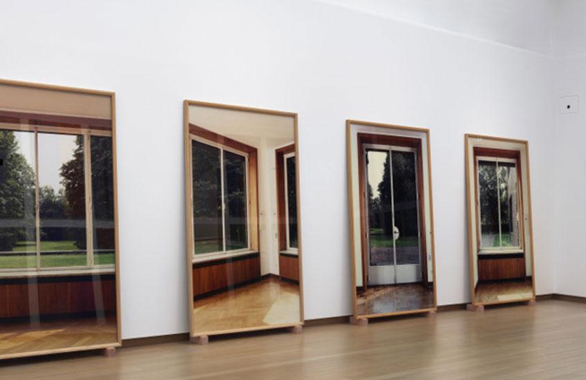 "Vista de ""Günther Förg. A fragile beauty"" en el Stedelijk Museum"