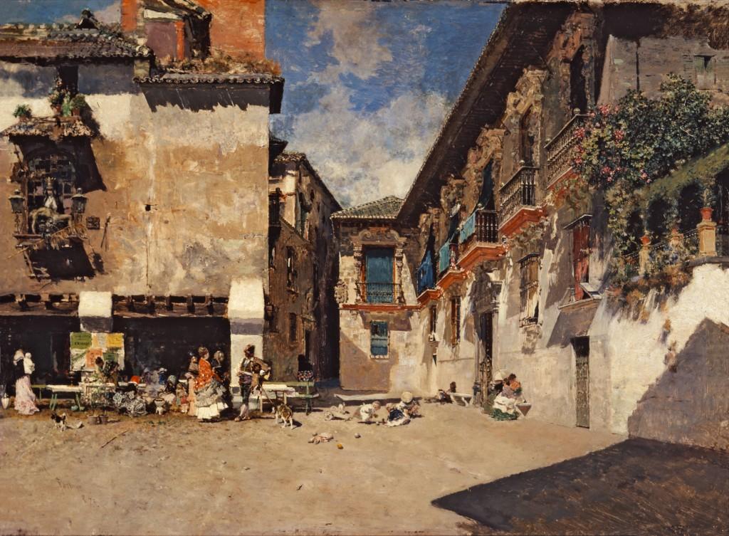 Mariano Fortuny. Ayuntamiento viejo de Granada, hacia 1872-1873. Museo de Bellas Artes de Granada