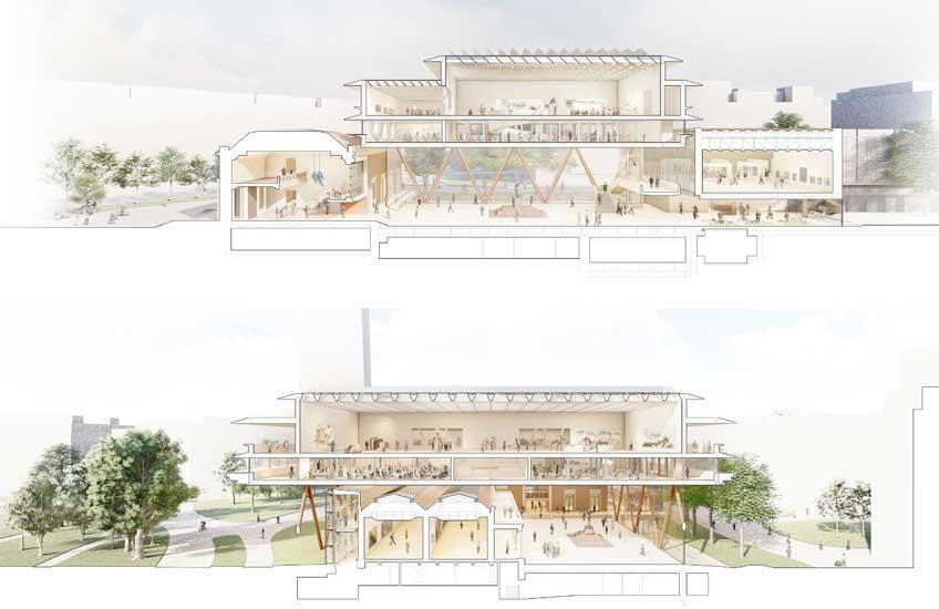 Foster+Partners + LM Uriarte Arkitektura. Proyecto de ampliación del Museo de Bellas Artes de Bilbao