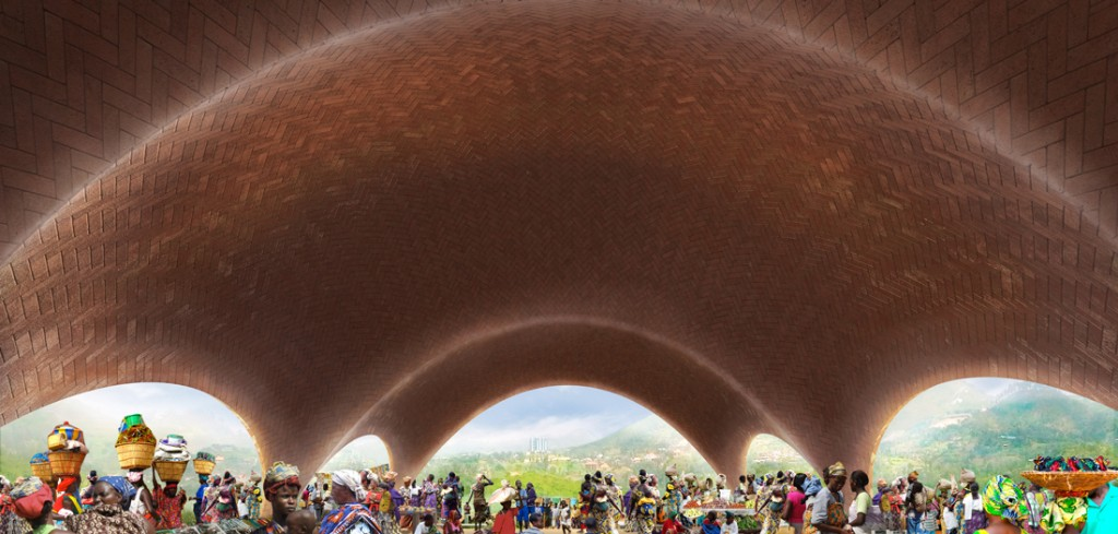 Droneport (2015) © Foster+Partners