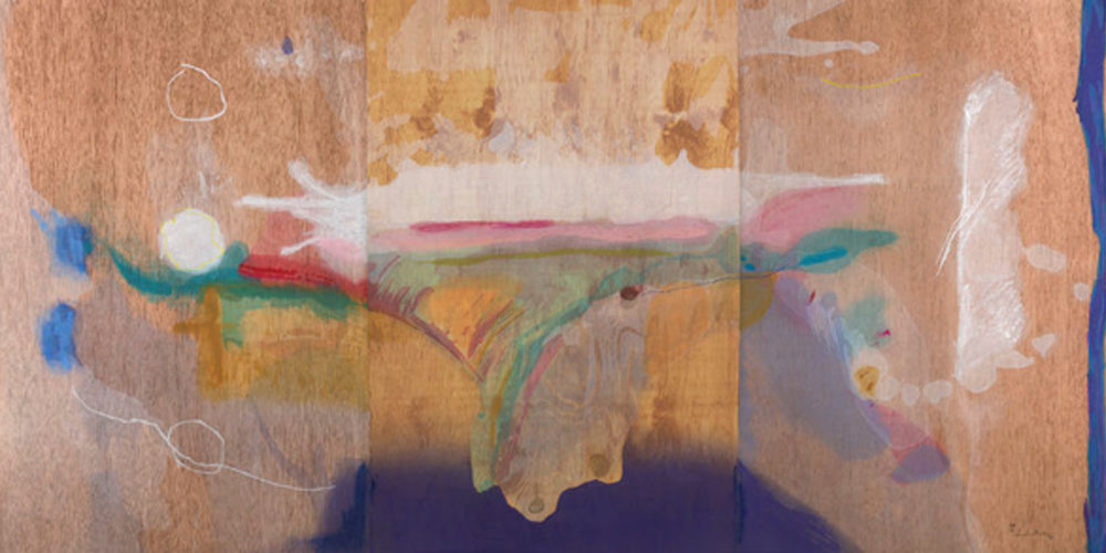"Helen Frankenthaler. ""Madame Butterfly"", 2000. © 2019 Helen Frankenthaler Foundation, Inc. / Artists Rights Society (ARS), New York / Tyler Graphics, Ltd., Mount Kisco, New York"