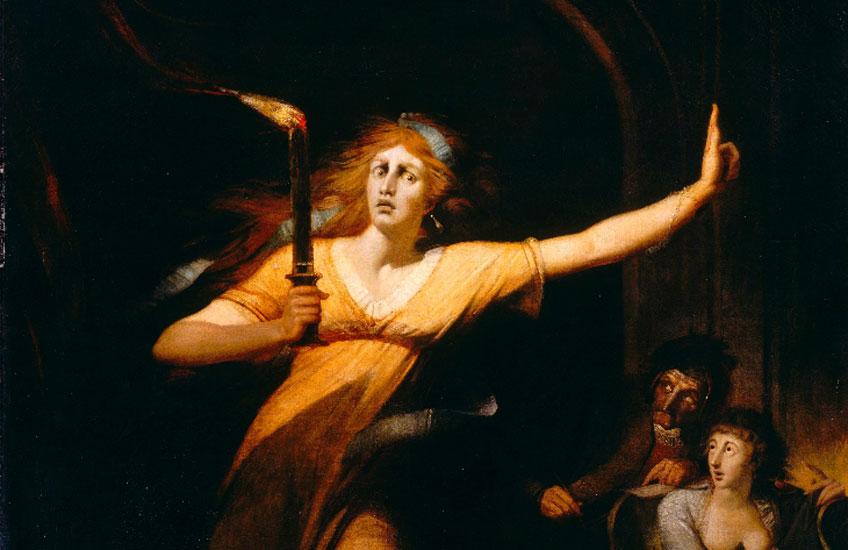 Füssli. Lady Machbeth, hacia 1783