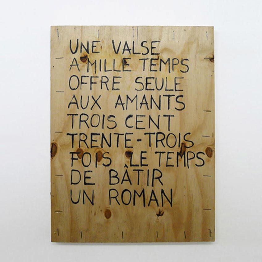 Joël Andrianomearisoa Une musique du temps présent I (Jacques Brel), 2020
