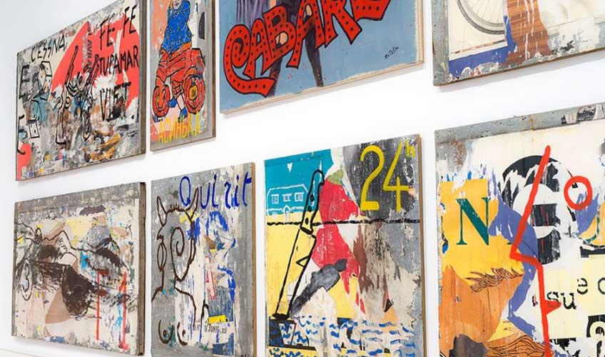 """""""Mimmo Rotella Manifesto"""" en la Galleria Nazionale d'Arte Moderna e Contemporanea de Roma"""