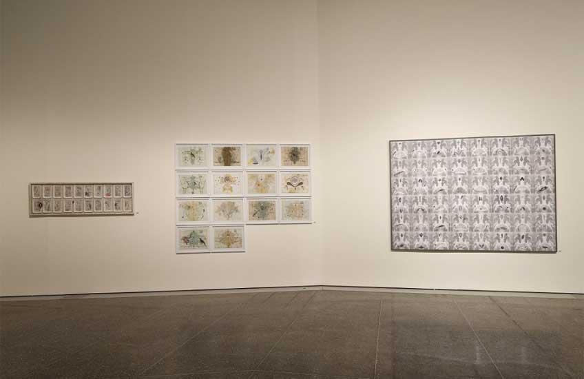 Vista de la exposición de Teresa Gancedo en el MUSAC