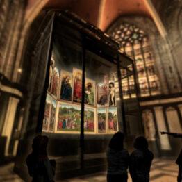 El Centro de Visitantes de la Catedral de San Bavón de Gante se abrirá en marzo