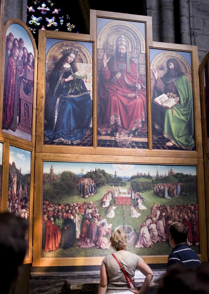 Jan y Hubert Van Eyck. Políptico de Gante, 1432