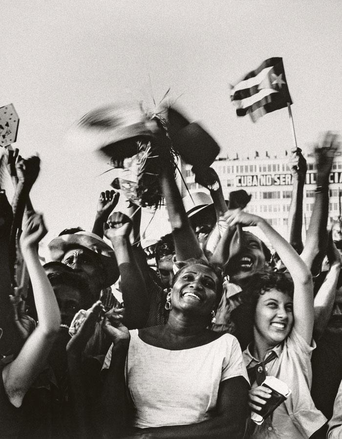 Paolo Gasparini. 26 de julio, La Habana, 1961. Colecciones Fundación MAPFRE. © Paolo Gasparini