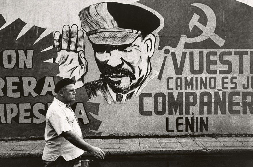 Paolo Gasparini. Compañero Lenin, La Habana, 1963 . Colecciones Fundación MAPFRE © Paolo Gasparini