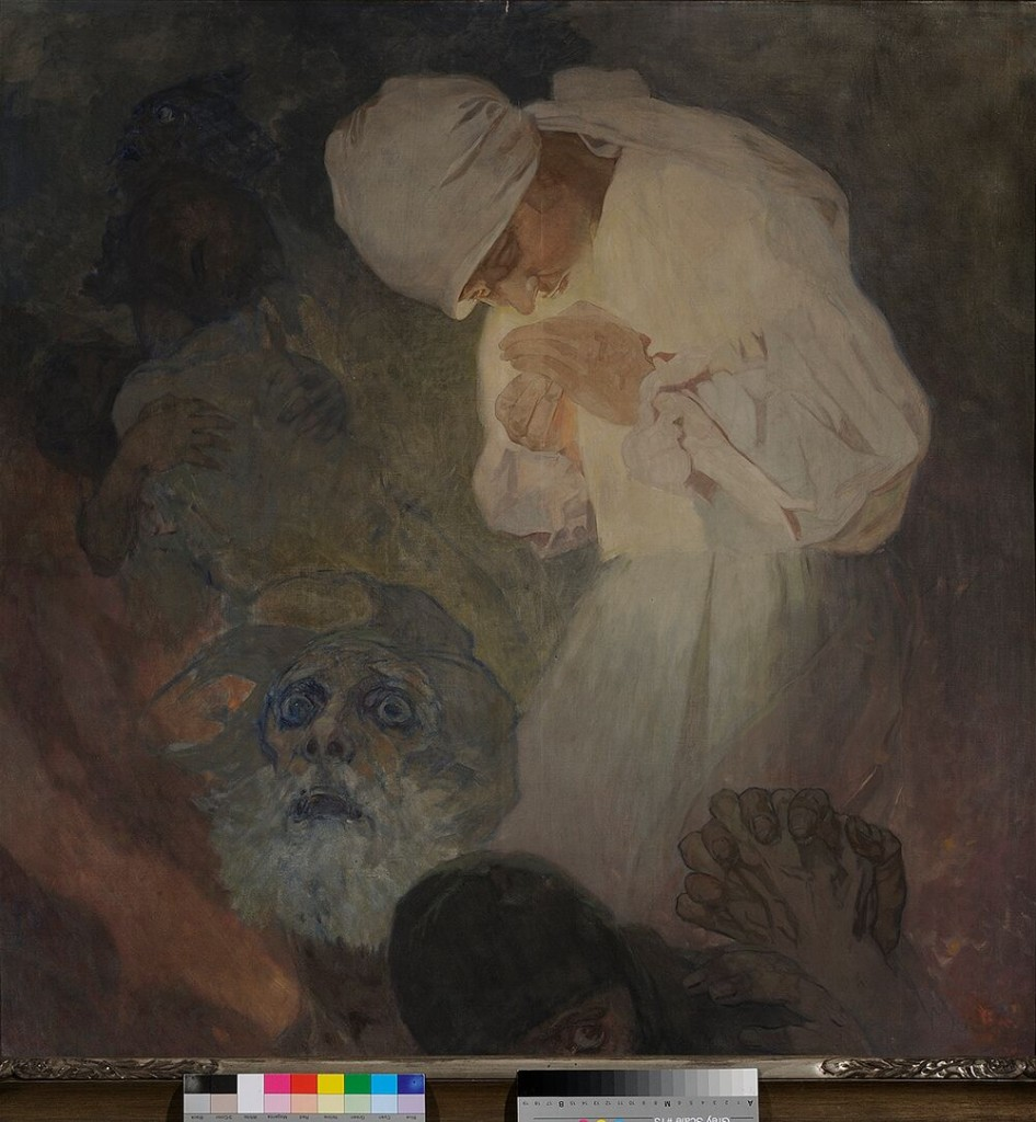 Alphonse Mucha. La luz de la esperanza, 1933. ©Mucha Trust