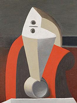 Picasso. Femme dans un fauteuil, 1929. Museu colecçião Berardo, Lisboa. © Sucession Pablo Picasso, VEGAP. Madrid 2019
