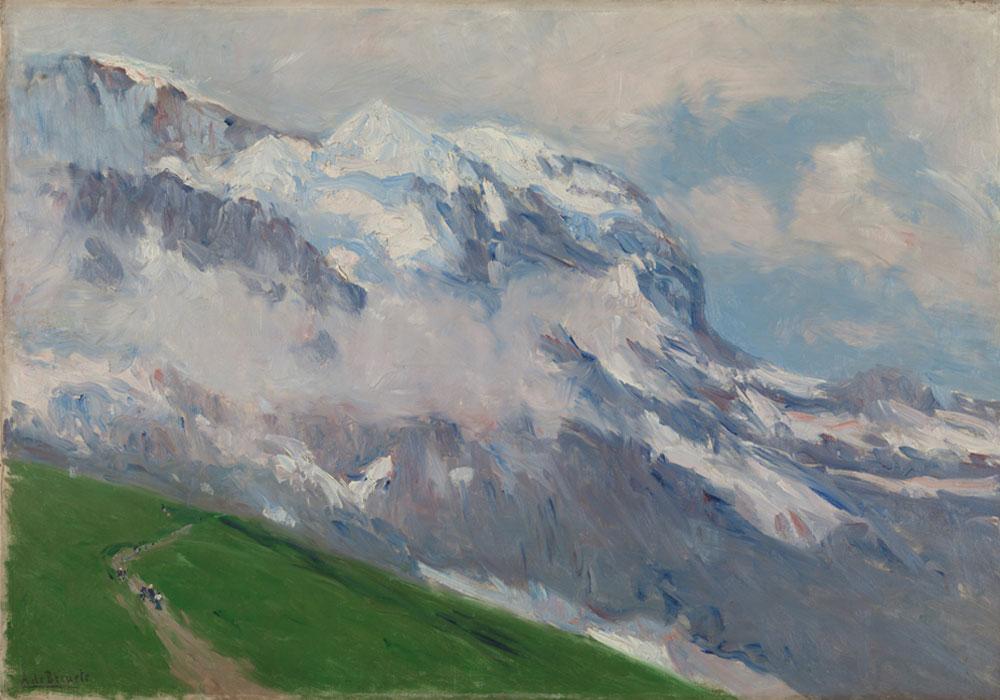 Aureliano de Beruete. Grindelwald, 1907. Museo Nacional del Prado. Donación Gerstenmaier