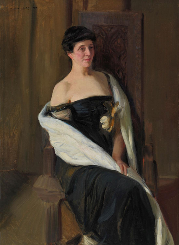 Joaquín Sorolla. Ella J. Seligmann, 1913. Museo Nacional del Prado. Donación Gerstenmaier