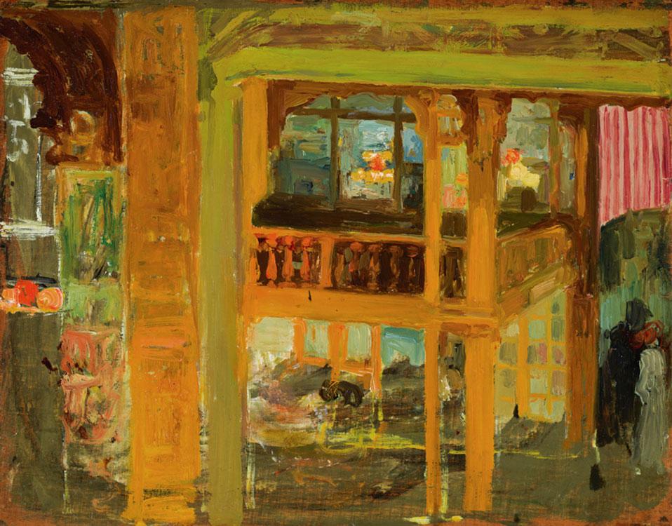 Anglada-Camarasa. Interior de un café-concert, hacia 1900. Museo Nacional del Prado. Donación Gerstenmaier