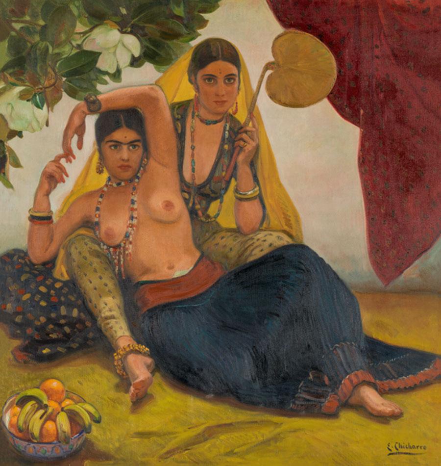 Eduardo Chicharro. Bayaderas indias, hacia 1924. Museo Nacional del Prado. Donación Gerstenmaier