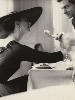Lillian Bassman. The V Back Evenings, Suzy Parker, Dress by Trigère, New York, 1955. The J. Paul Getty Museum