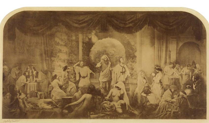 Oscar Rejlander. Two Ways of Life (Hope in Repentance), 1857. Moderna Museet, Estocolmo