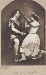 Oscar Rejlander. El primer negativo, 1857. Musée d'Orsay, Paris. Photo © RMN-Grand Palais / Art Resource, NY / Patrice Schmidt