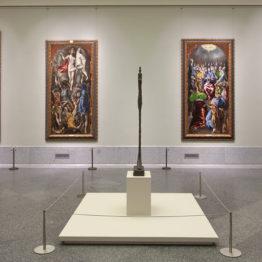 El paseo póstumo de Giacometti en el Prado