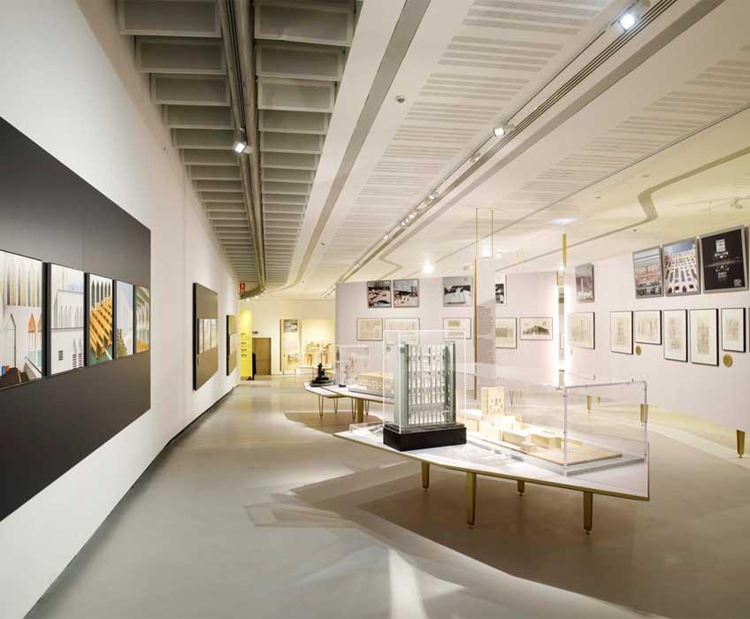 """""""Gio Ponti. Amare l'architettura"""". Fotografía: © Musacchio, Ianniello & Pasqualini. Cortesía de Fondazione MAXXI"""