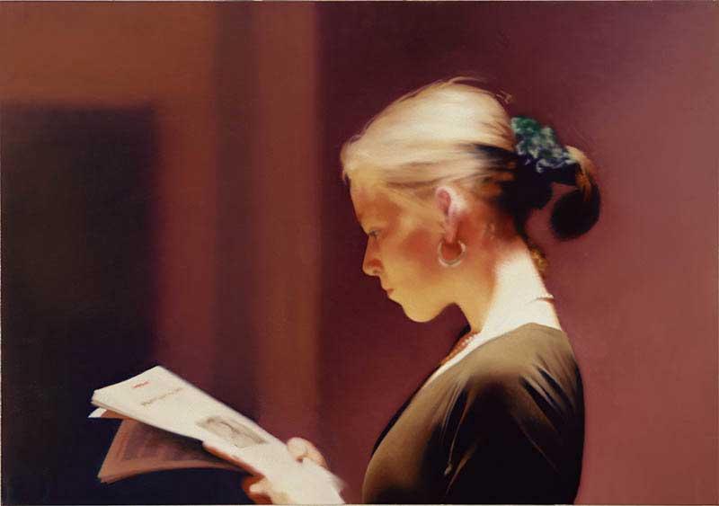 Gerhard Richter. Reader (804), 1994. San Francisco Museum of Modern Art