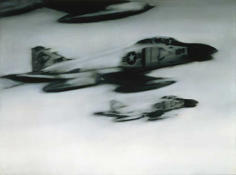 Gerhard Richter. Phantom Interceptors (50), 1964. Froehlich Collection, Stuttgart