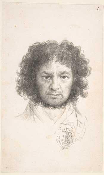 Autorretrato Francisco de Goya