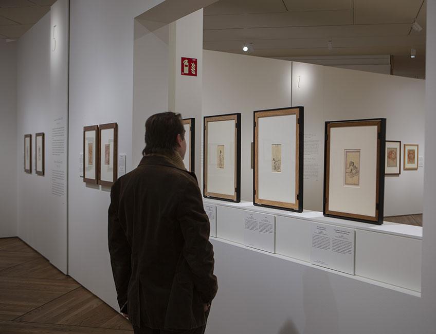 """""""Solo la voluntad me sobra. Dibujos de Goya"""". Museo del Prado"""