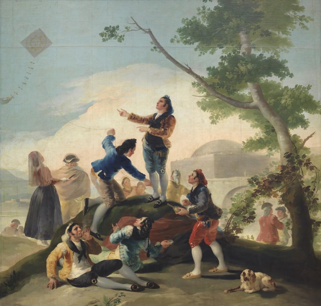 Francisco de Goya. La cometa, 1787-1788. Madrid, Museo Nacional del Prado