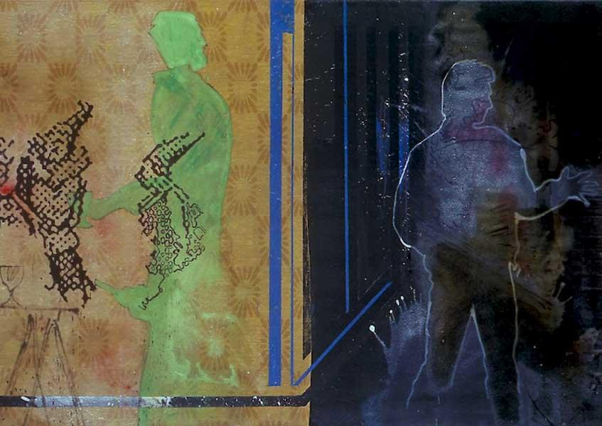 Sigmar Polke. Gugu ung George (fragmento), 1983