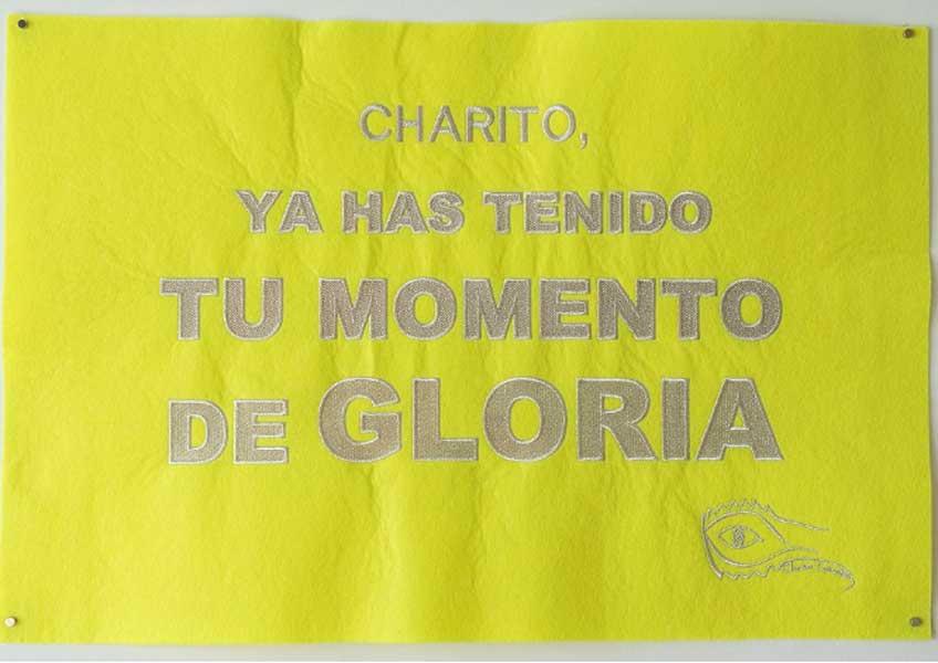 """Charo Corrales. """"Un minuto de gloria"""" en Imaginart Gallery"""