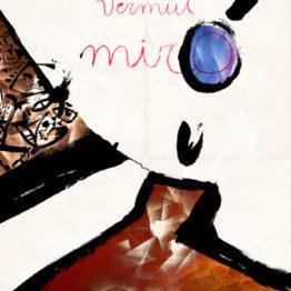 Raúl Guillamon. Guinovart destapant un reserva. Obra finalista en el III Certamen Miró&Art