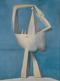 Picasso. Desnudo de pie junto al mar, 1929