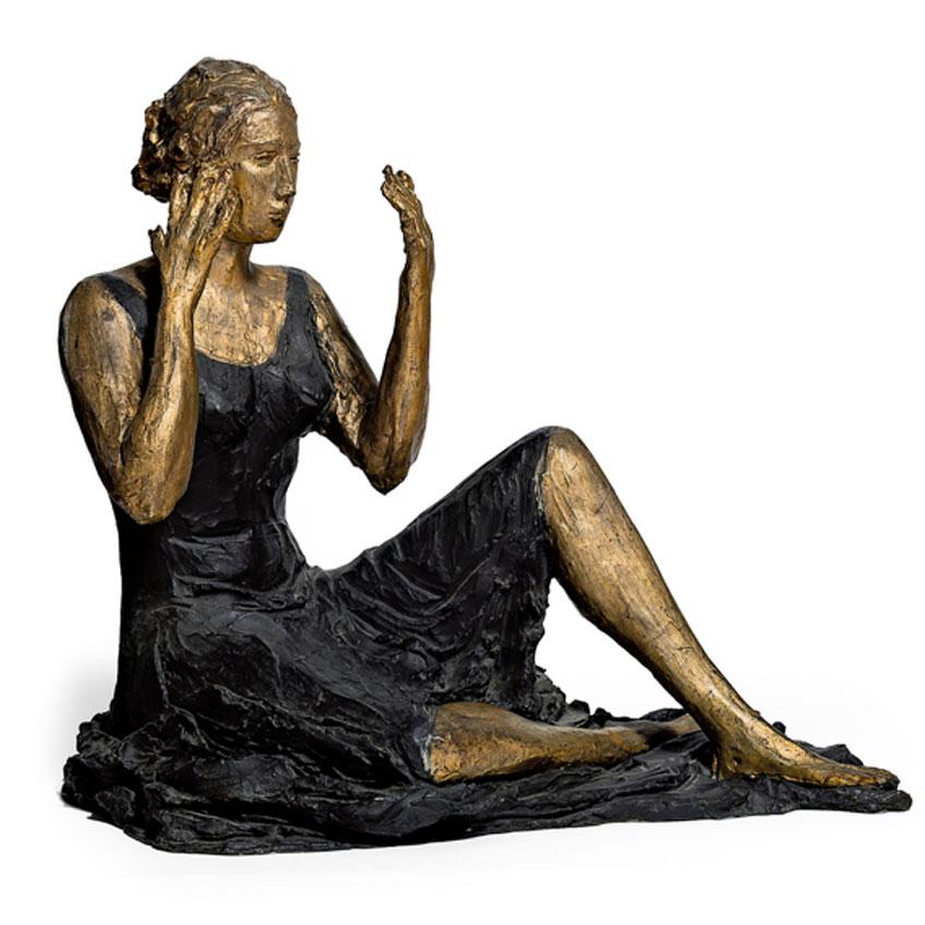Lucio Fontana. Señorita sentada, 1934. Museo del Novecento, Milán © Fondazione Lucio Fontana, Bilbao, 2019