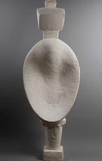 Alberto Giacometti Mujer cuchara (Femme cuillère), 1927. Fondation Giacometti, París © Succession Alberto Giacometti ,VEGAP, Bilbao, 2018