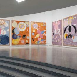 Hilma af Klint despierta pasiones en el Guggenheim de Nueva York