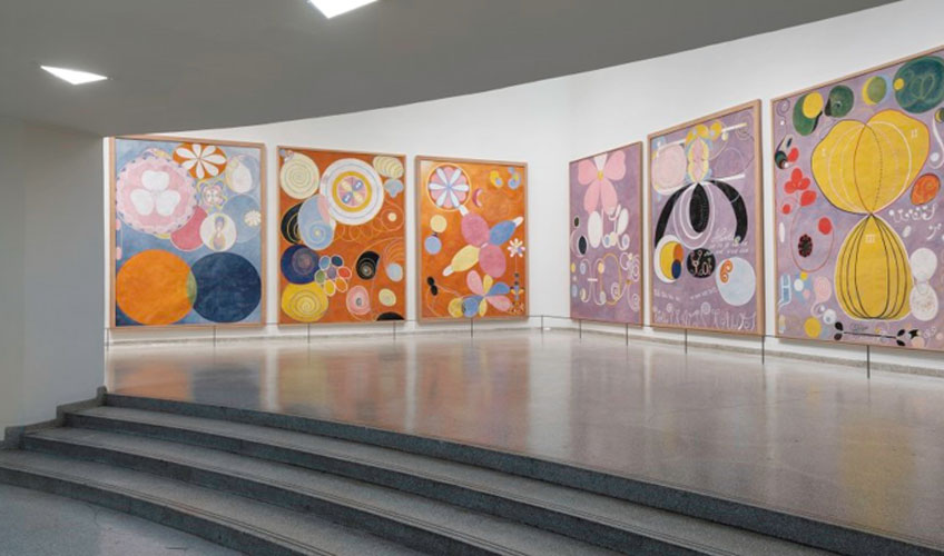 """Hilma af Klint: Paintings for the Future"" en el Solomon R. Guggenheim Museum"