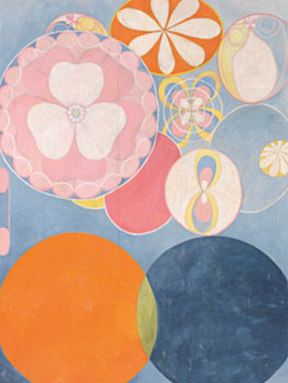 Hilma af Klint. Group IV, The Ten Largest, No. 2, Childhood, 1907. Fundación Hilma af Klint, Estocolmo