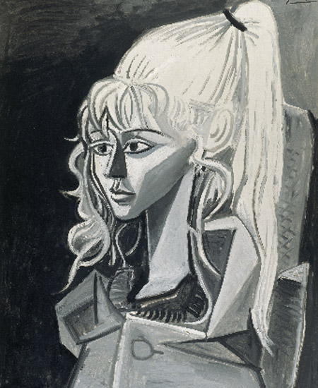 Pablo Picasso. Sylvette, 1954. Kunsthalle Bremen – Der Kunstverein in Bremen