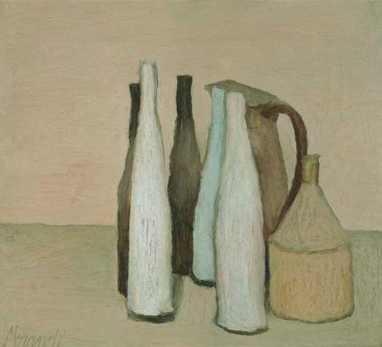 Giorgio Morandi. Naturaleza muerta (Natura morta), 1951. Istituzione Bologna Musei | Museo Morandi © Giorgio Morandi, VEGAP, Bilbao, 2019