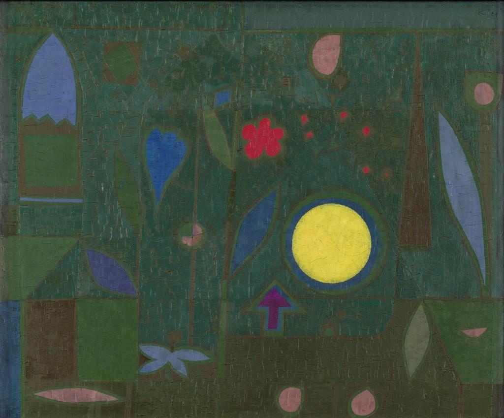 Paul Klee. Luna llena en el jardín (Vollmond im Garten), 1934. Hermann und Margrit Rupf-Stiftung, Kunstmuseum Bern © Paul Klee's Estate/VEGAP, 2016
