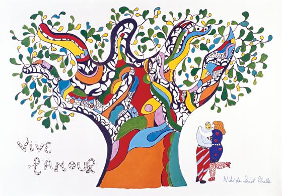 Niki de Saint Phalle. Viva el amor (Vive l'Amour), 1990