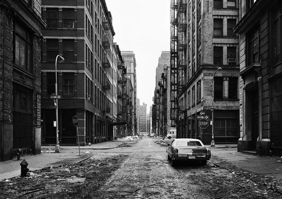 Thomas Struth. Crosby Street, Soho, Nueva York 1978. © Thomas Struth