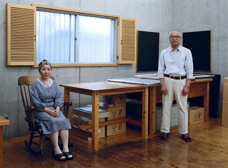 Thomas Struth. Kyoko y Tomoharu Murakami, Tokio 1991 (Kyoko and Tomoharu Murakami, Tokyo 1991). © Thomas Struth