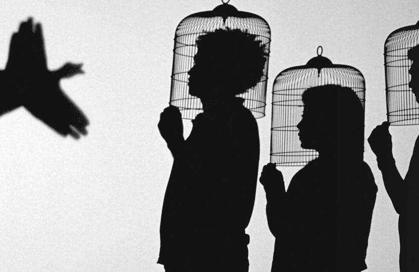 Javier Téllez. Teatro de sombras (Shadow Play), 2014. Cortesía del artista y Galerie Peter Kilchmann, Zúrich © Javier Téllez